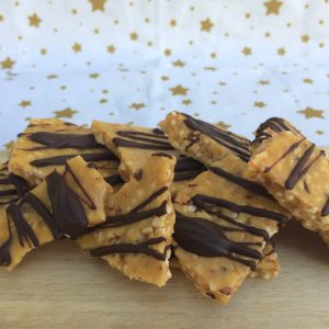 Hazelnut brittle with dark chocolate
